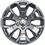 20-inch polished forged aluminum wheels
