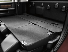 Enjoy ample storage with folding rear seats in a 2017 Ram 3500 Truck Canada