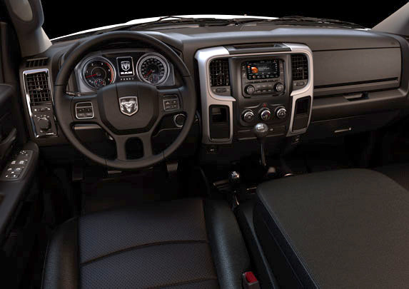 2017 Ram Chassis Cab Canada - User-friendly, ergonomically designed interiors