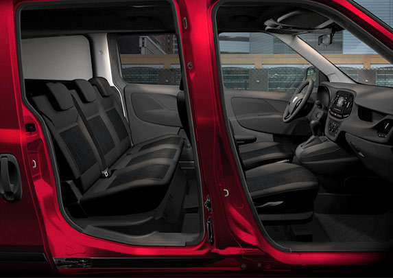 The 2017 Ram ProMaster City Canada seats 5 and can operate as a family vehicle too