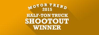 Ram 1500 <em>Motor Trend'</em>s 2015 half-ton truck shootout winner