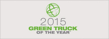 Ram 1500 2015 Green Truck of the Year<sup>TM</sup> by <em>Green Car Journal</em> - the first-ever truck to win this award